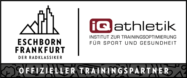 iQ athletik ist offizieller Trainingspartner von Frankfurt-Eschborn