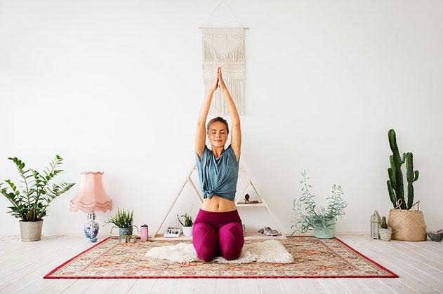 Yoga Online im Raum der Achtsamkeit in Rupperswil