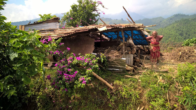 Erdbeben,Trekking,Wandern,Sicherheit,Armut,Angst,Unterkünfte,Hilfe
