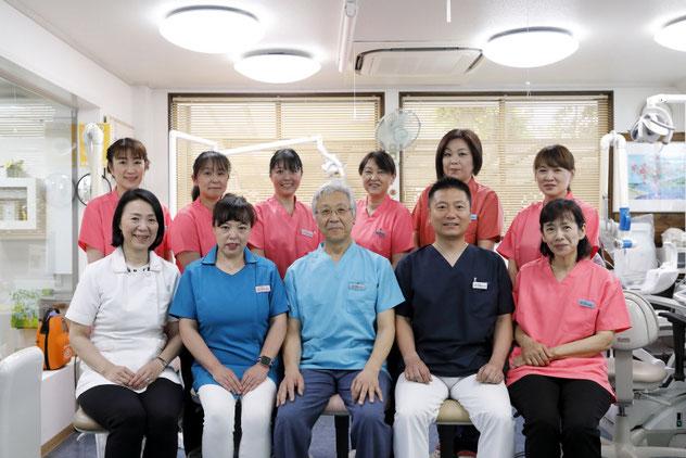 斉藤歯科医院スタッフメンバー