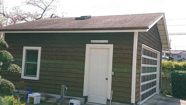 エコラ屋根カバー工法 施工前