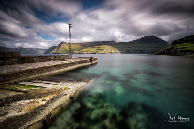 Färöer / Faroe Island, Funningur, Langzeitbelichtung, 2017, ©Silly Photography