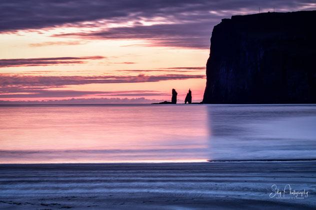 Färöer / Faroe Island, Tjørnuvik, Langzeitbelichtung, 2017, ©Silly Photography