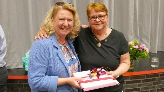 Für die Grünen überbrachte die Ortsvorsitzende Anke Thomsen die Glückwünsche.