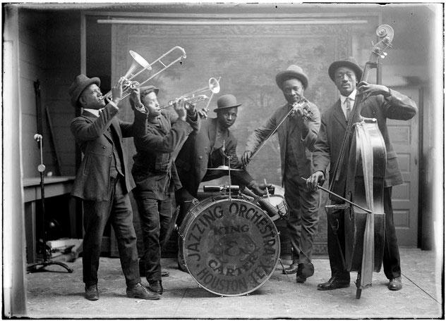 カーター&キング・ジャズ・オーケストラ,1921年