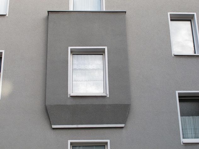 bereits gedämmtes Nachbarhaus (vgl. Bild oben)