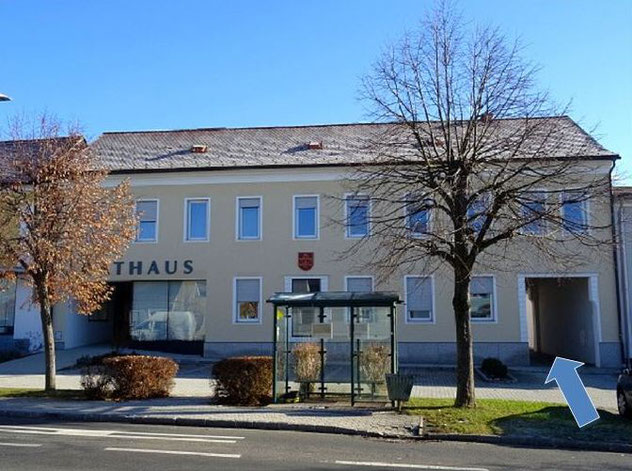 ATELIER im Rathaus-Innenhof - Sankt Michael im Burgenland - Hauptplatz 8