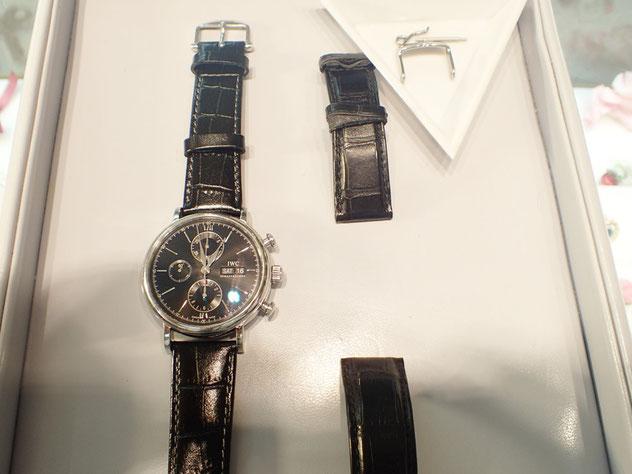 the latest 81b70 ec726 IWC腕時計ベルト交換~純正の金具を再び使用できる喜び - 群馬県 ...