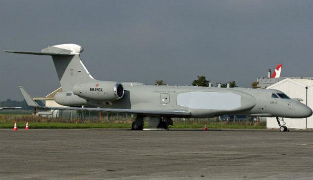 Il Gulfstream G550 AEW&C dell'Aeronautica Militare / © AirTeam Images