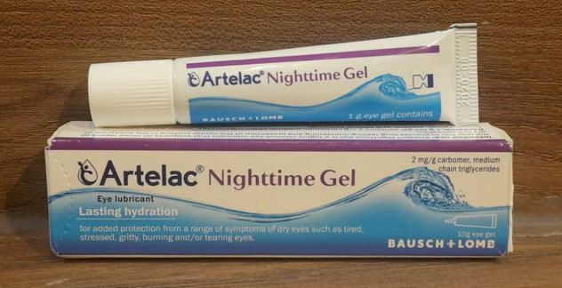 Artelac Nighttime Gel Abbildung