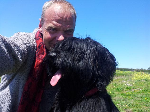Urlaub mit Hund in der Bretagne. Privates Ferienhaus, Hunde erlaubt