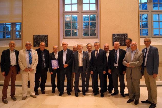 Photo de famille des membres de notre comité départemental.