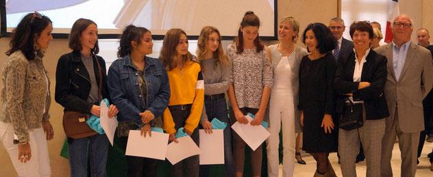 Lors de cette cérémonie, des jeunes ont aussi reçu des lettres de félicitations, une grande première Normande.