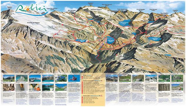 Cartina della zona (fonte: www.robiei.ch)