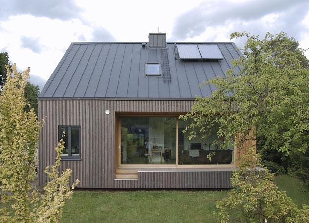 Einfamilienhaus Jesteburg Holzfassade