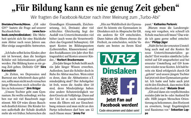 © NRZ Dinslaken vom 11.1.2017