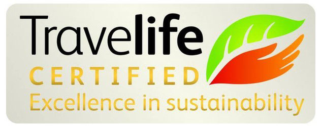 Nutty's Adventures Co. Ltd. is a certified and registered partner of Travelife.