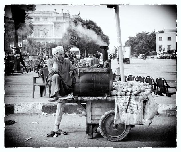 #Tahrir Square, Cairo, Egypt © OBS