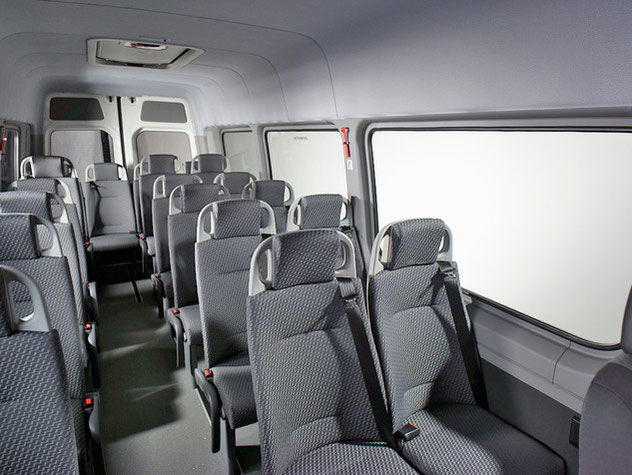 The new AMF-Bruns Smartliner based on the Volkswagen Crafter