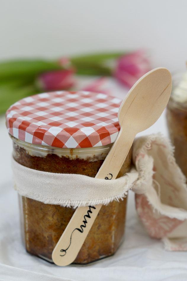 glutenfreier Kokos-Karotten-Kuchen to go #histaminfreiday