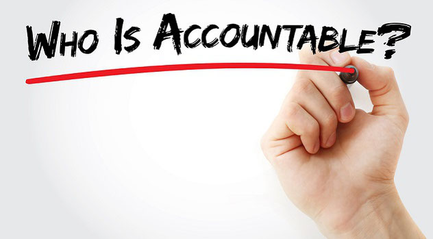 can't delegate accountability