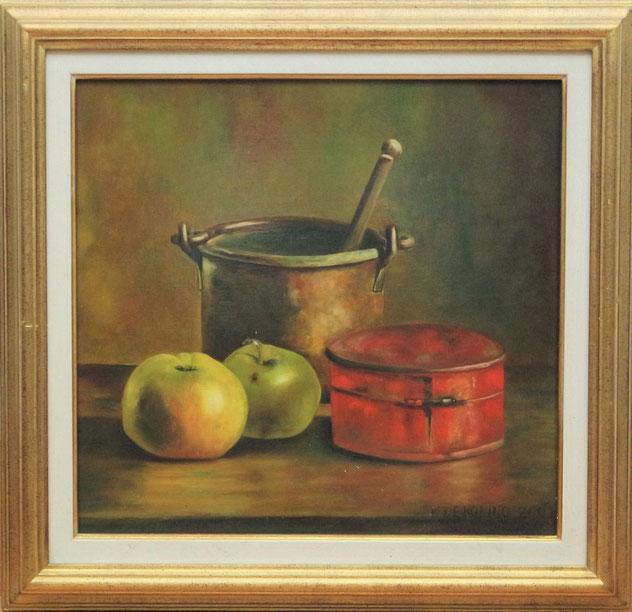 te_koop_aangeboden_een_stilleven_van_de_nederlandse_fijnschilder_cornelis_de_koning_1957
