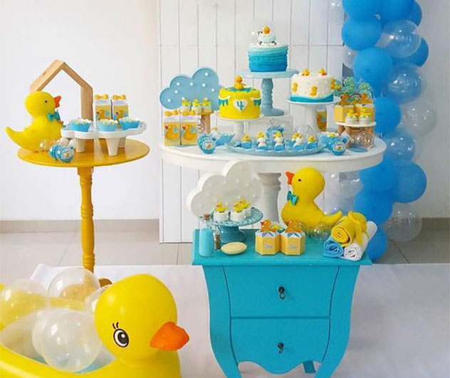 baby shower tematico patos