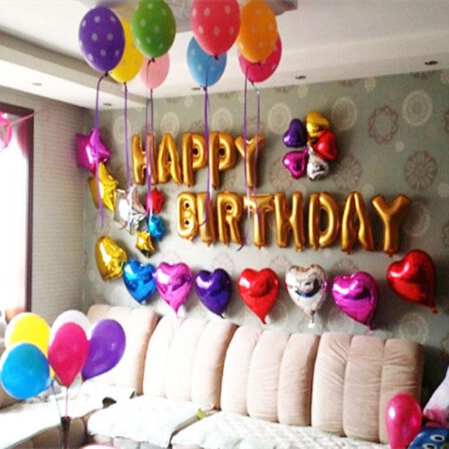 decoracion globos en casa