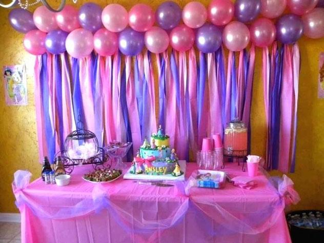 decoracion cumpleaños en casa