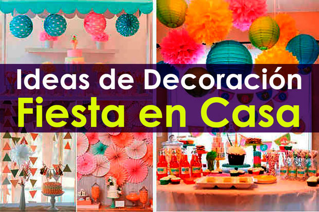 decoracion fiesta en casa