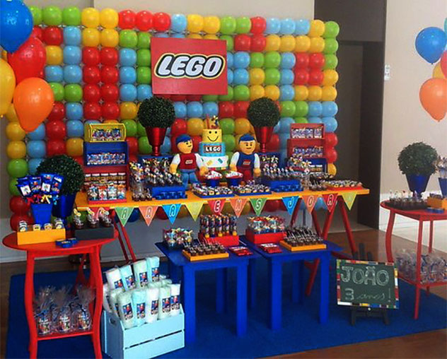 fiesta tematica lego