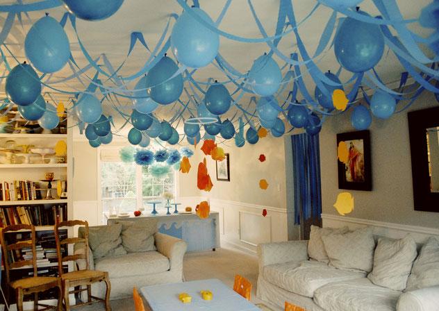 fiesta de niño en casa