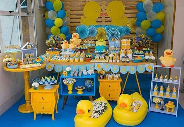 fiesta tematica de patos