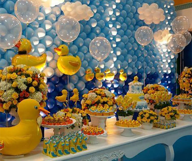 ideas baby shower patos