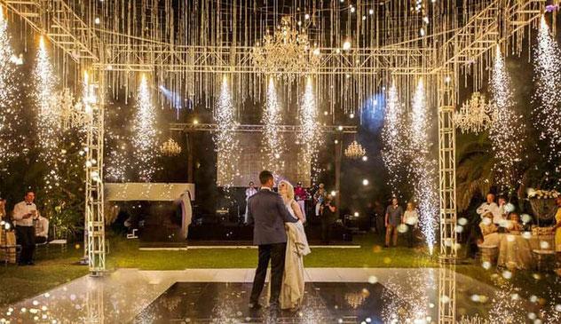 bodas en espacios abiertos durante verano