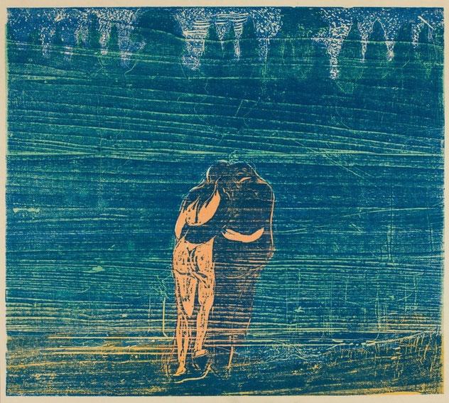 "Edvard Munch, ""Davanti alla foresta"" (1897)"
