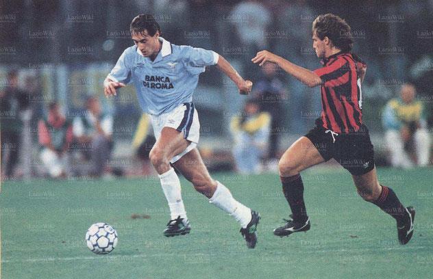 Lazio - Foggia del 29 agosto 1993, la prima partita trasmessa in pay-per-view