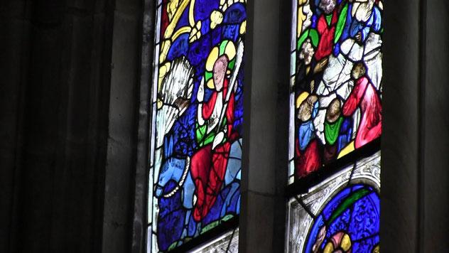 Fenster Einzug Jesu