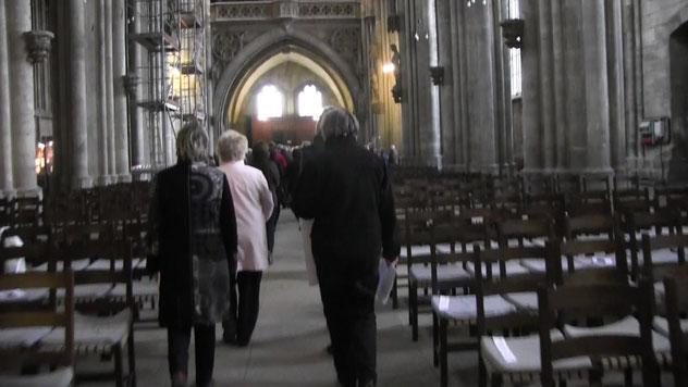 Prozession Abschluss