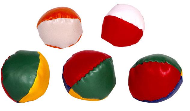 Billige Jonglierbälle mit Logo bedruckt