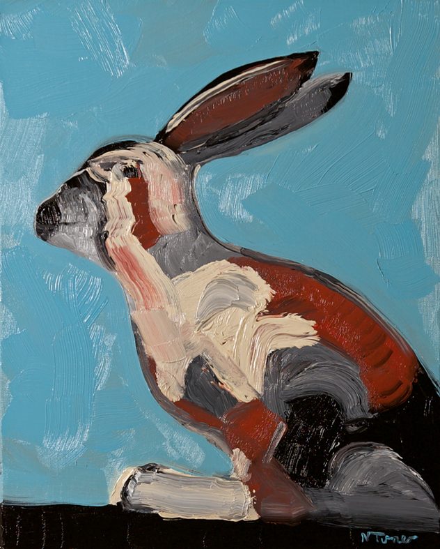 Laura H. - oil on canvas, 21 1/2 by 18 in.