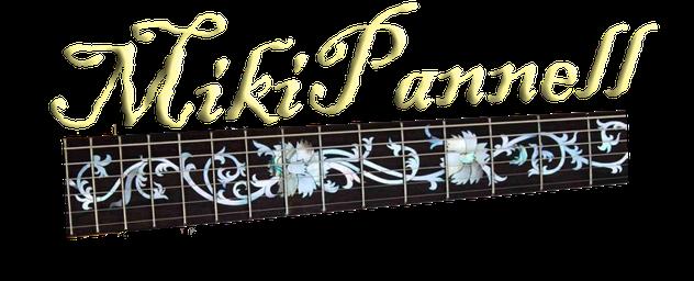 Logotipo de Miki Pannell. Logo