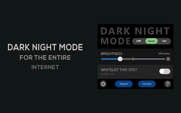 Dark Night Mode