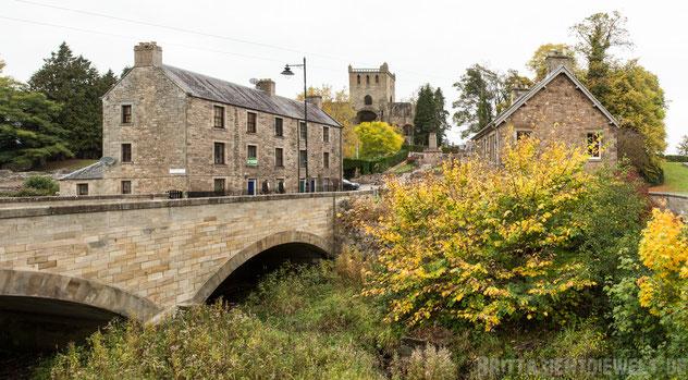 Jedburgh,Schottland,Abbey,Brücke,Herbst,Oktober