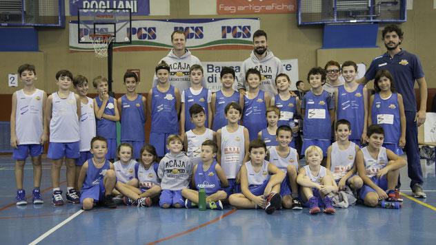 Gli Acajotti protagonisti al torneo Ugo Dellaferrera di Dogliani con gli istruttori Mondino, Riva e Grosso - Roberta Cravero ph.