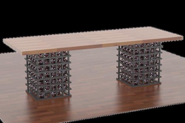 стол из габионов,стол деревянный