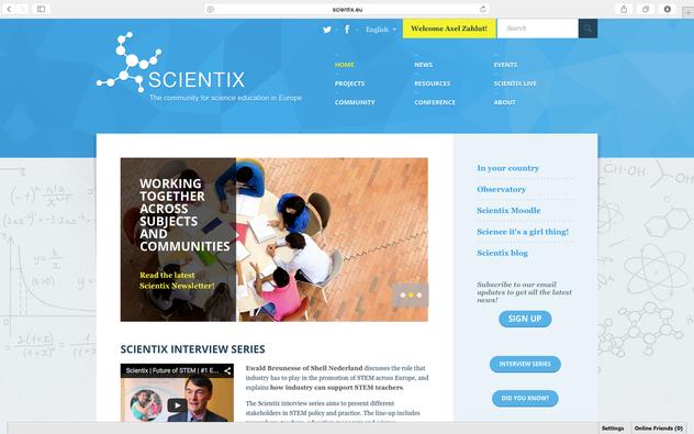 Portal von Scienti