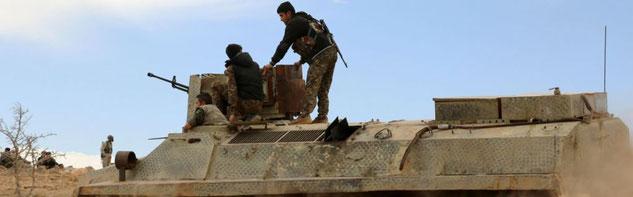 SDF styrker foran al-Raqqa