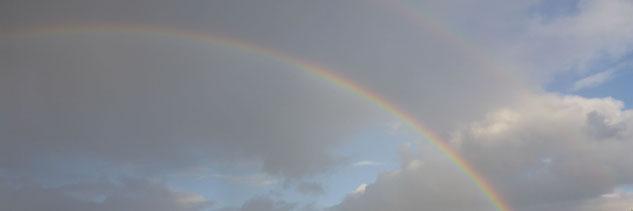 Doppelter Regenbogen; Mediation, die besondere Art Konflikte zu lösen; Rita Prinzen, Freiburg
