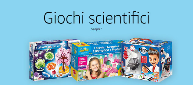 Giochi educativi e scientifici